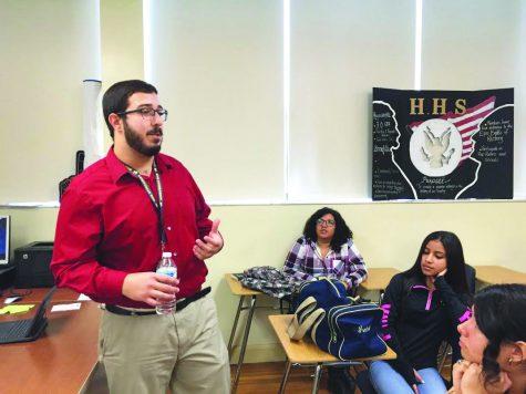 Mr. Hampton: Making history everyday
