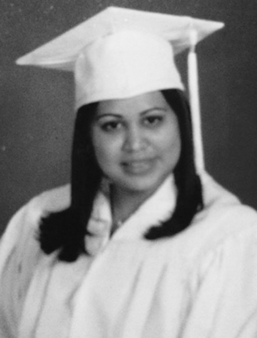 Alumni Ms. Munguia graduated with the class of '05.
