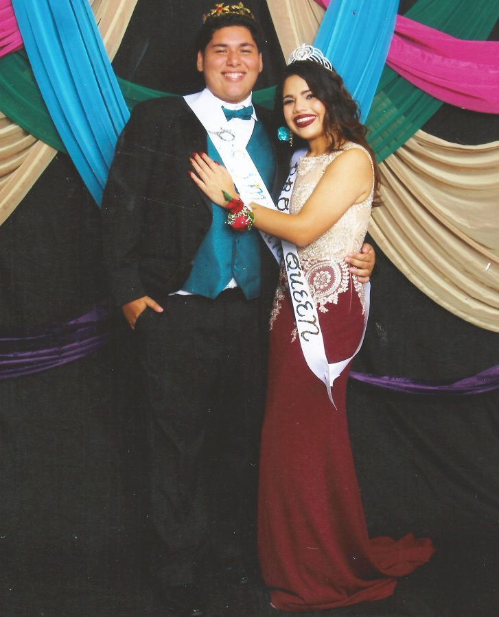 Prom+King+and+Queen+of+Class+of+%2716%2C+Scarlet+Garcia+and+Anthony+Porras.