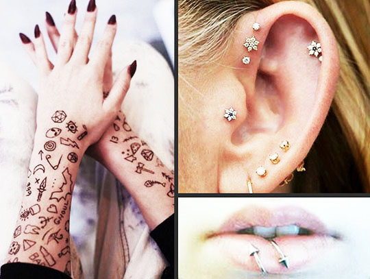 Tattoos And Piercings What Do They Say About You Miami High News