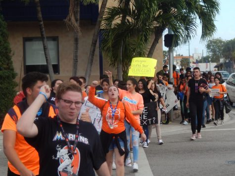 Students March Against Gun Violence