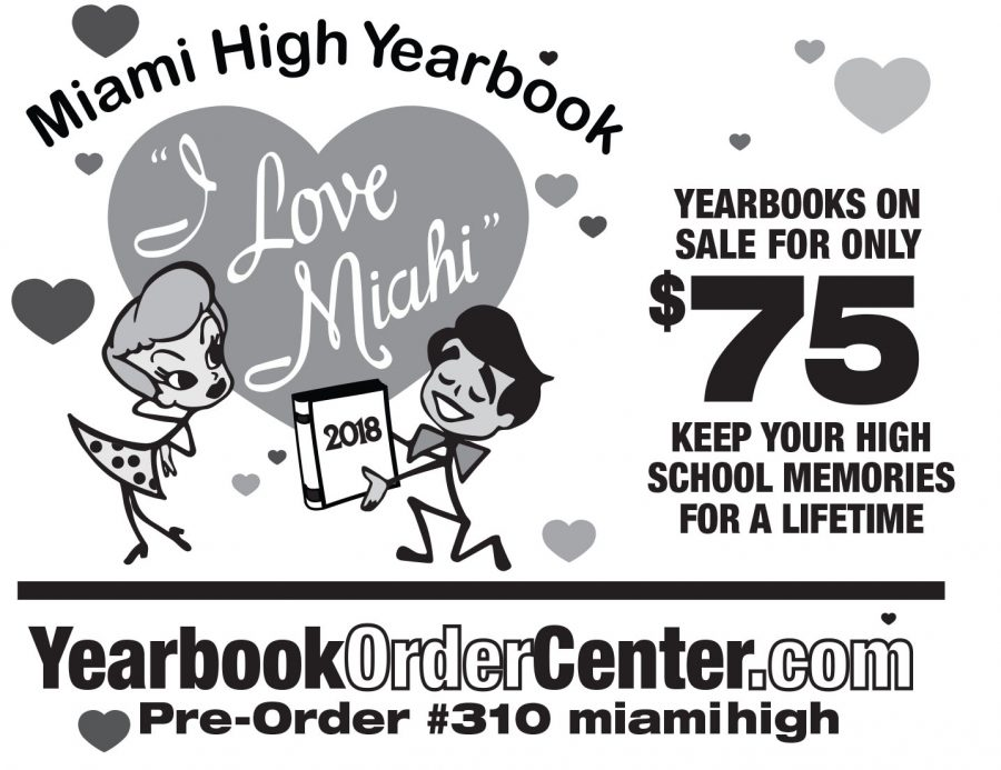 YEARBOOKS ON SALE FOR ONLY $75