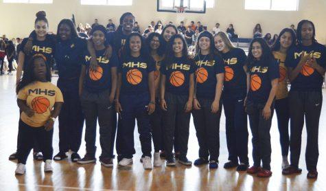GIRLS BASKETBALL TEAM SENDOFF TO STATE CHAMPIONSHIP