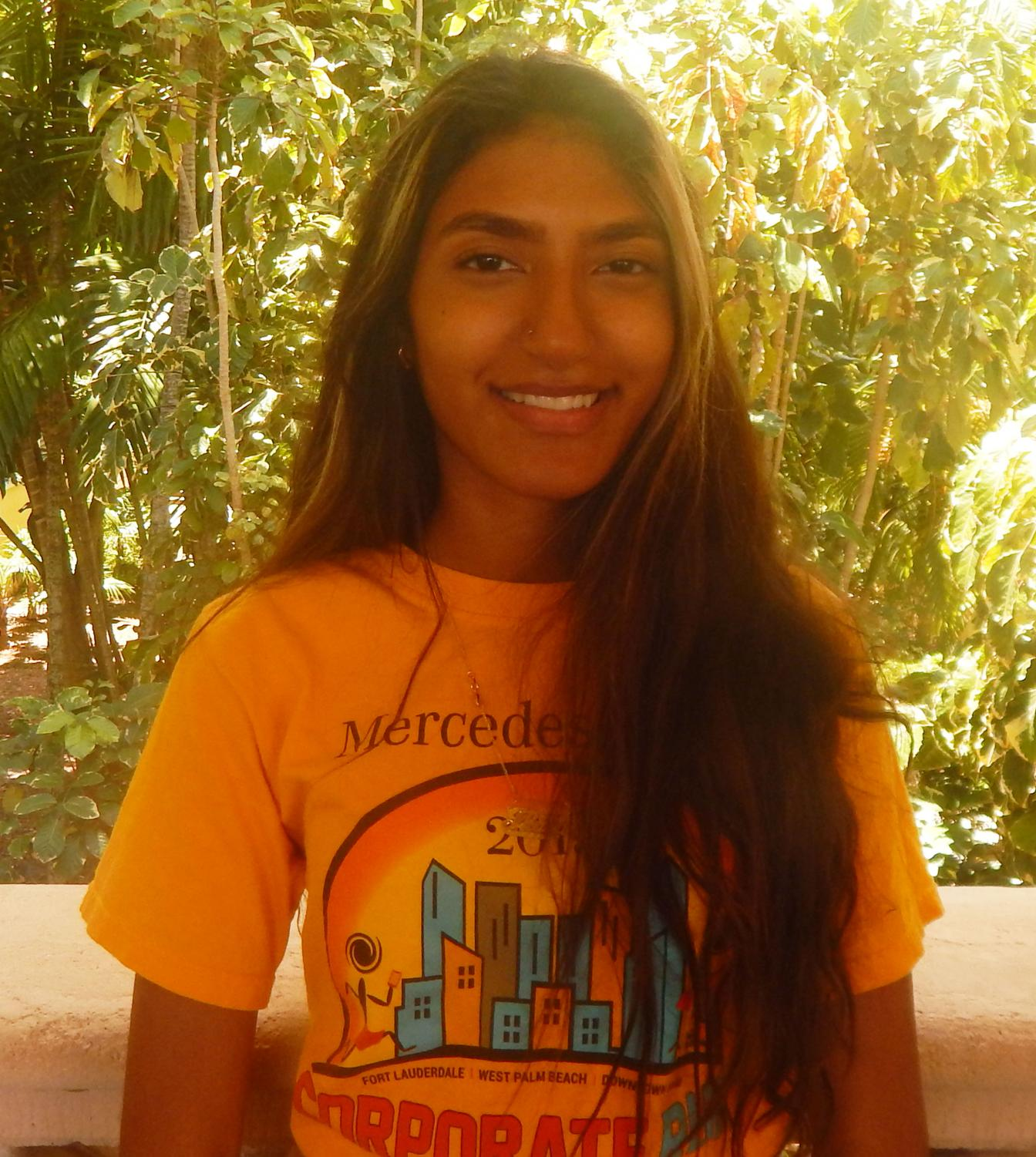 Thalia Lopez plans on majoring in biology after High School.