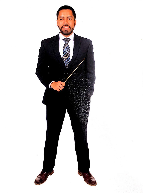 Band Director, Mr. Campos.